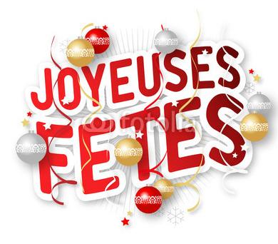 Toute l'équipe vous souhaite de Joyeuses Fêtes