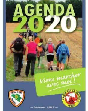 Agenda des marches  F.F.B.M.P.   –   2020  !!!