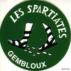 Changement Adresse Départ Spartiates Gembloux – 15 décembre 2019