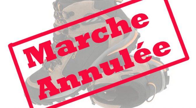 Marches Annulées – Sa. 10 Août & Di. 11 Août 2019 – NA054 Les Marcheurs des Hautes Roches – Dourbes